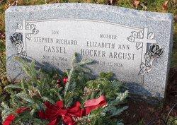 Elizabeth Ann <I>Hocker</I> Argust