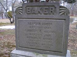 Cordelia Ann <I>Raymond</I> Baker