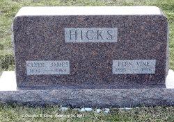 Fern <I>Vine</I> Hicks