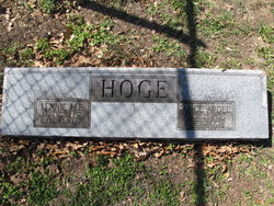 Lennie Lee Hoge