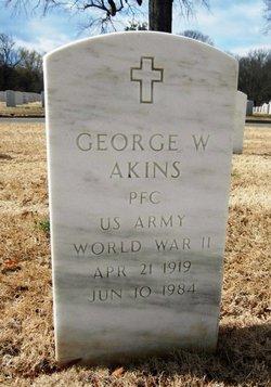 George W Akins