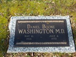 Dr Daniel Boone Washington
