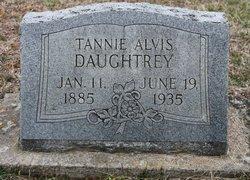 Tannie W. <I>Alvis</I> Daughtrey