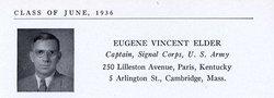 Gen Eugene V. Elder