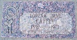 Lorena Jane <I>Thomas</I> Caffey