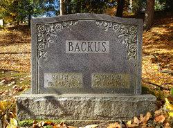 Ralph Orick Backus