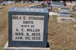 "Lenora Gertrude ""Nola"" <I>Strahan</I> Smith Miller"
