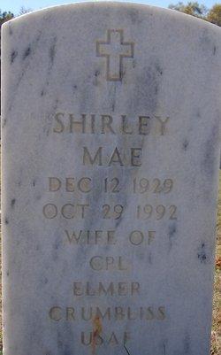 Shirley Mae Crumbliss