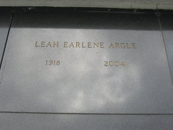 Leah Earlene <I>Hollis</I> Argle