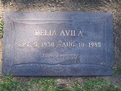 Delia <I>Rivera</I> Avila