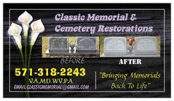 Classic Memorial Restorations by Bobby Chamberlain