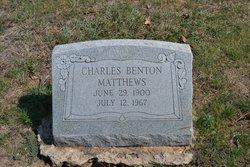 Charles Benton Matthews