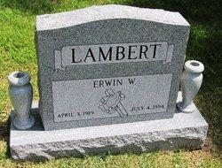Erwin W. Lambert