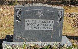Alice Green <I>Duff</I> Leath