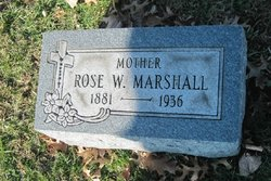 Rose <I>Wigbels</I> Marshall