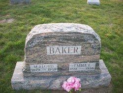 Emma Elizabeth <I>Leffler</I> Baker