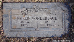 Amelie K <I>Bredemeir</I> Vonderlage