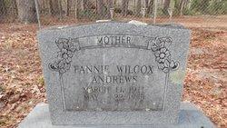Fannie <I>Wilcox</I> Andrews