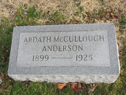 Ardath Edith <I>McCullough</I> Anderson