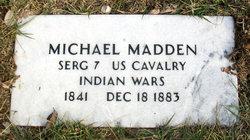 Sgt Michael P. Madden