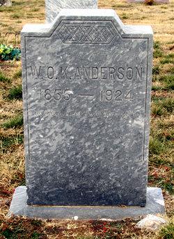 William O. K. Anderson