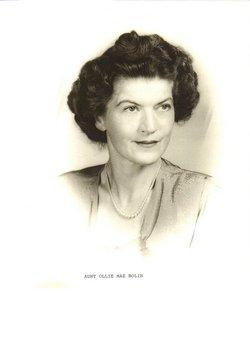 Ollie Mae Bolin
