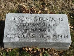 "Lieut Joseph Francis ""Joe"" Black, Jr"
