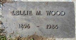 Lellie May <I>Clayton</I> Wood