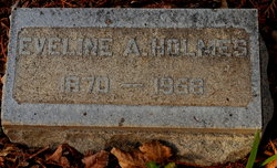 "Eveline Taber ""Eva"" <I>Appleby</I> Holmes"