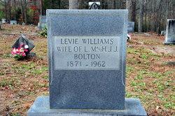 Levie <I>Williams</I> Bolton