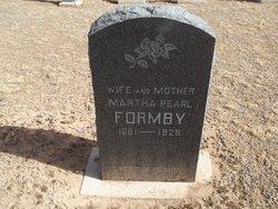 """Martha Pearl """"Pearly"""" <I>Wright</I> Formby"""