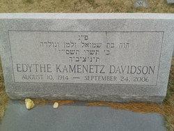 Edythe Kamenetz Davidson
