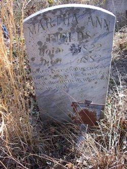 Martha Ann <I>Moore</I> Fields