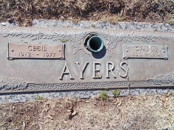 Cecil Irvy Ayers