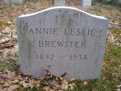 Annie Leslie Brewster