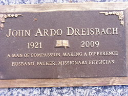 Dr John Ardo Dreisbach