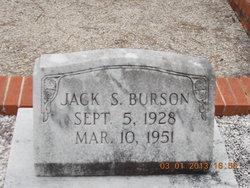 Jack S Burson