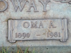 Oma Arvilla Earp Galloway 1890 1981 Find A Grave Memorial