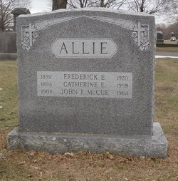 Catherine E <I>McCue</I> Allie