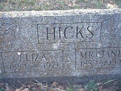 Eliza Hicks