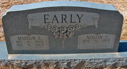 Marion Edmon Early