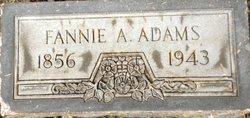 Fannie <I>Allen</I> Adams