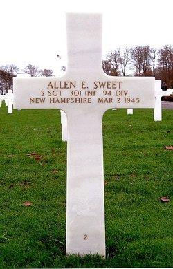 SSgt Allen E Sweet