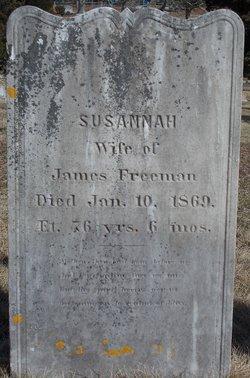 Susanna <I>Wiley</I> Freeman