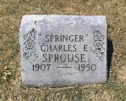 """Charles Ellis """"Springer"""" Sprouse"""