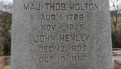 Maj Thomas Molton