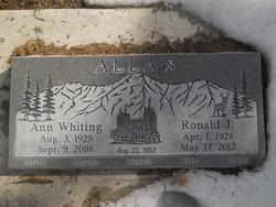 Ann <I>Whiting</I> Allan