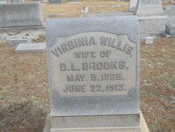 Virginia <I>Willis</I> Brooks