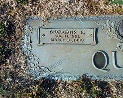 Broadus Ervin Quinn, Sr