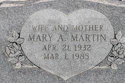 Mary Ann <I>Jacobs</I> Martin
